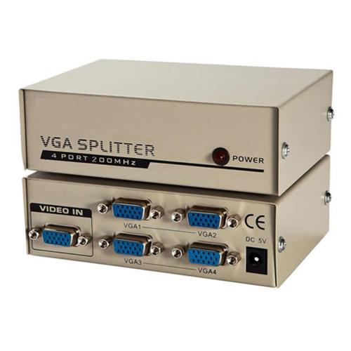Vga splitter 1x4 200 mhz