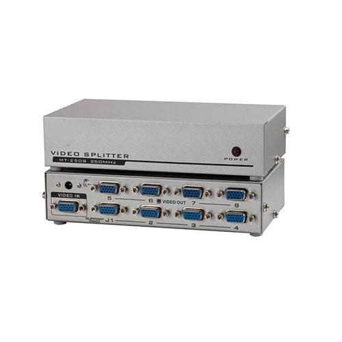 Vga splitter 1x8 150 mhz