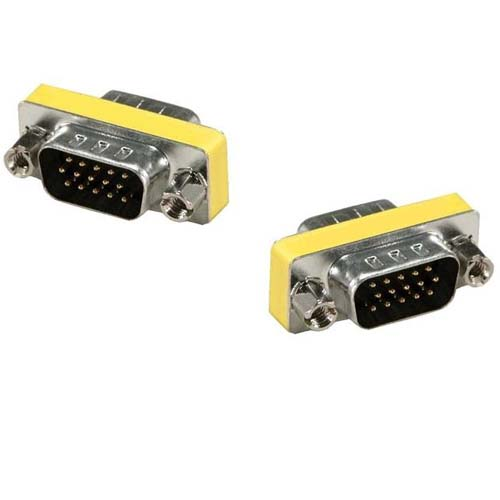 Vga male to male connector