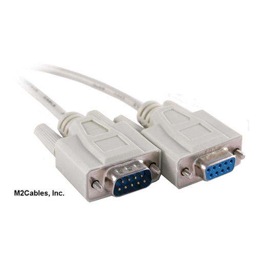 Db-9 male to female cable