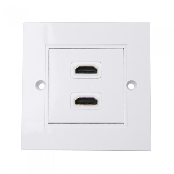 Face plate 2 hdmi port