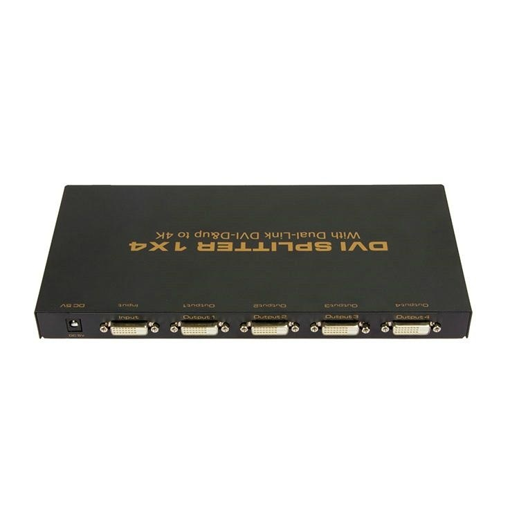 Dvi splitter 1x4 port