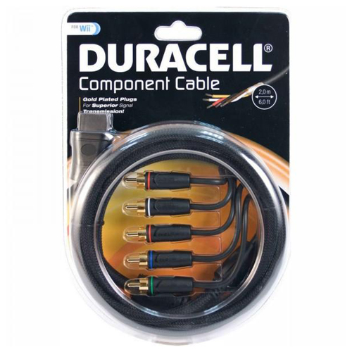 Duracell w006du component cable for wii