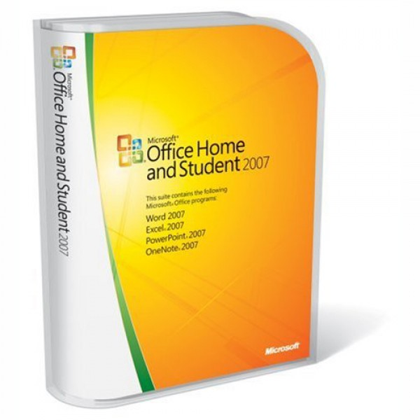 Microsoft Office Home and Student 2007 79G-01331