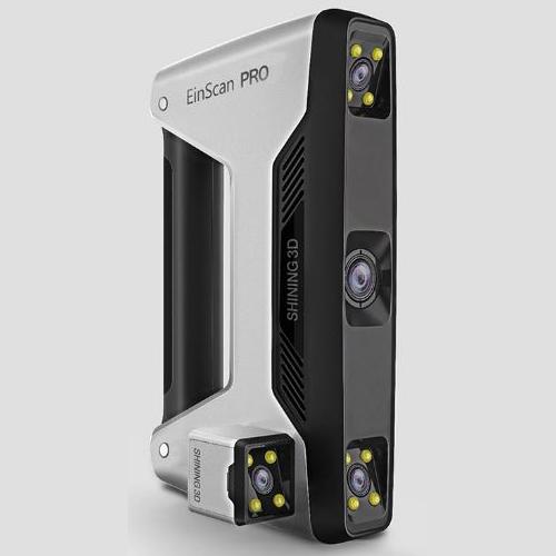 Einscan-pro hand held professional 3d scanner