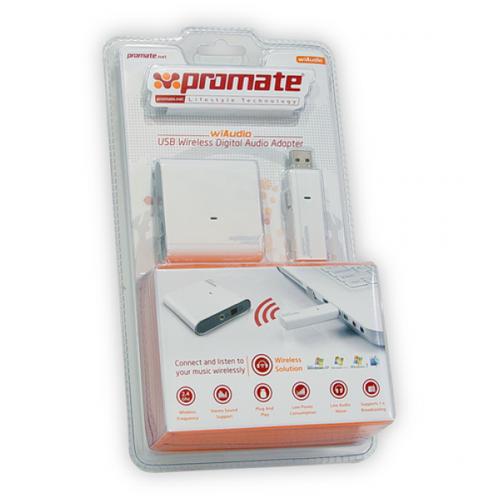 Promate wiaudio usb wireless digital audio adapter