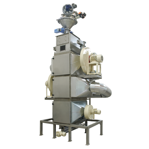 Vertical roasters for cocoa beans (tfc)