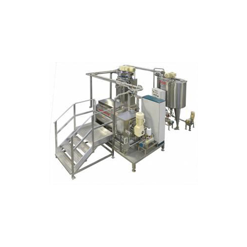 Semi-automatic cream mixing and refining systems(MRC)_2