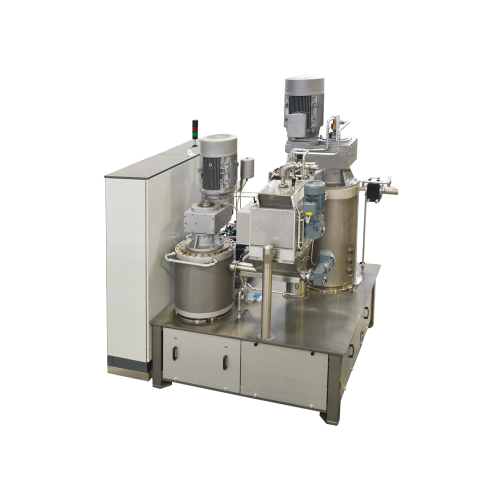 Continuous refining systems for creams(p105-cr)