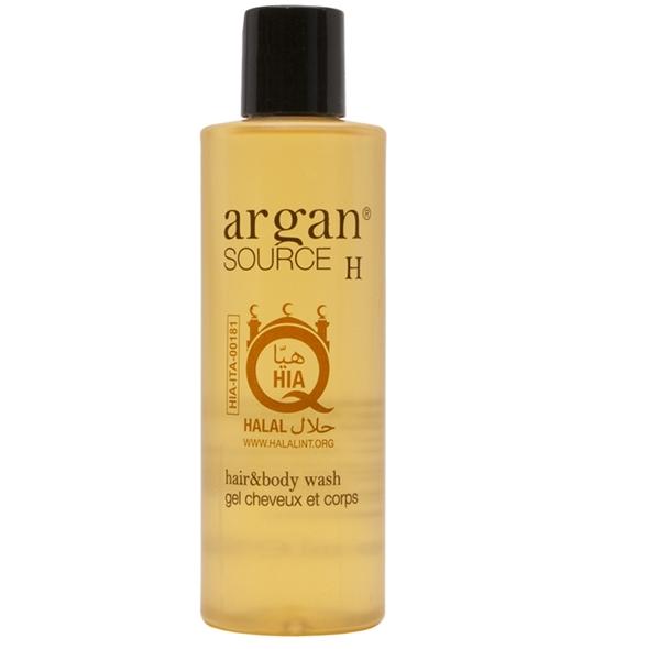 Argan source h: hair & body wash 200ml