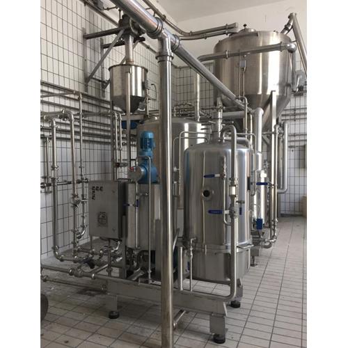 Storage line and dissolving sugar