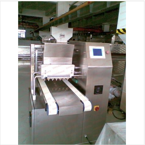 Tray extrude cookie machine