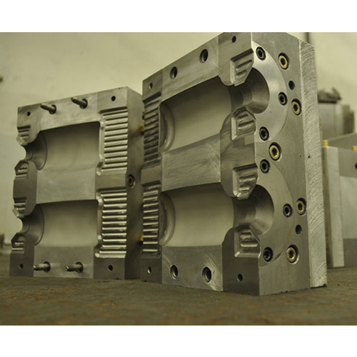 Extrusion blow molds