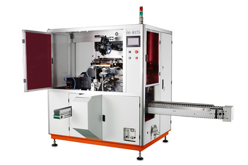 Os-175 one color automatic uv screen printing machine