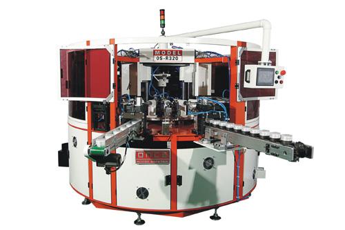 Os-r320 automatic three color uv screen printing machine