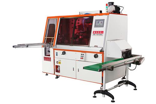 Os-787cnc one color automatic servo uv screen printing machine