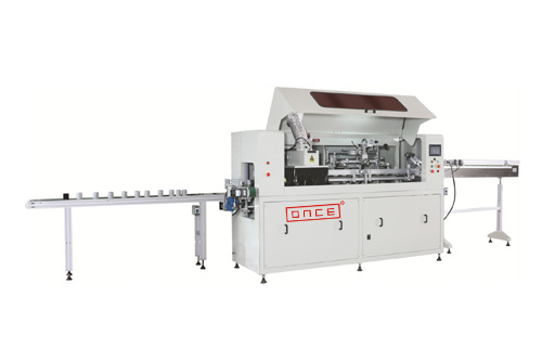Os-r45 automatic uv screen printing production line
