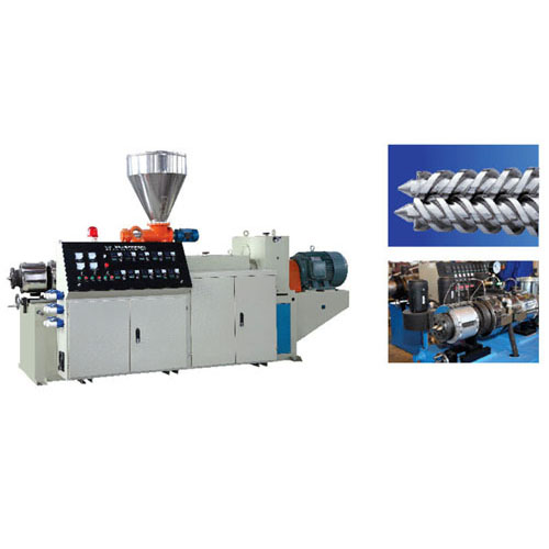 Sjz series of conical twin - screw extruder