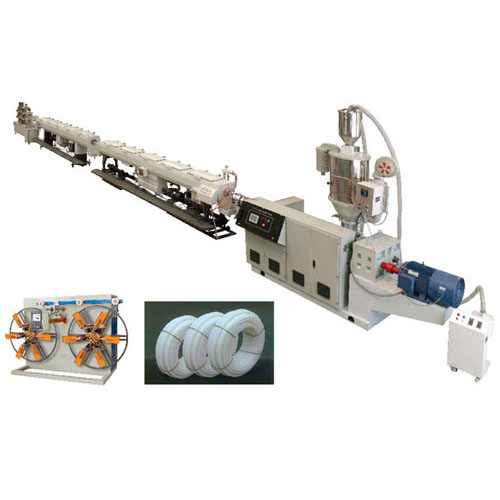 Pert pipe high-speed extrusion production line