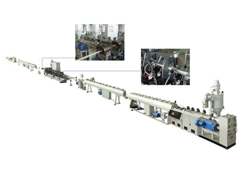 Steady ppr aluminum pipe extrusion production line