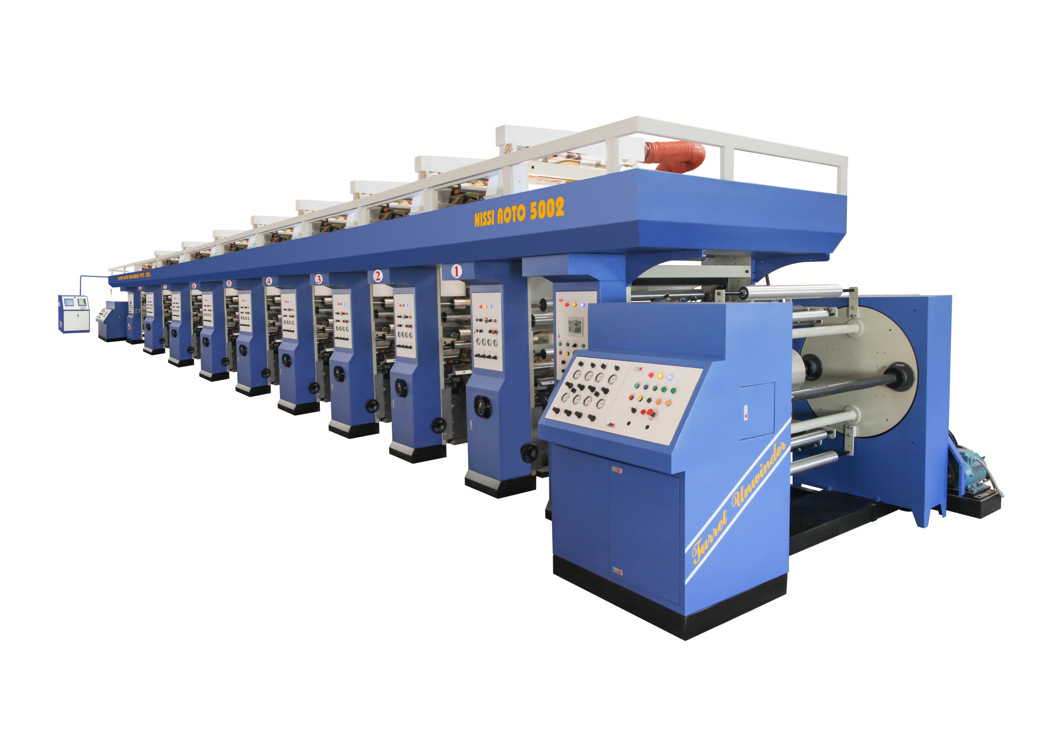 MULTI COLOR ROTO GRAVURE PRINTING MACHINE_2