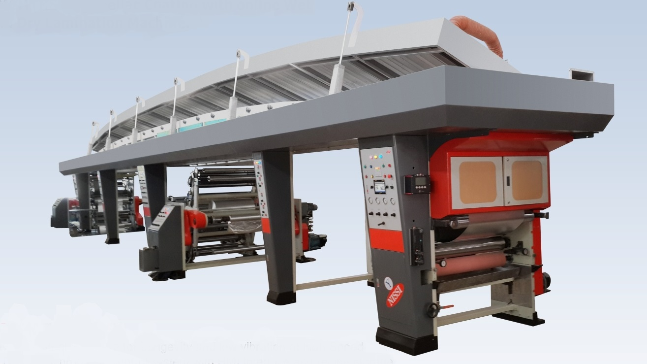 HSL & SHELLAC COATING MACHINE WITH ONLINE WET & DRY LAMINATION FACILITY_2