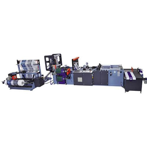 Ozm 85 slp soft loop bag cutting machine