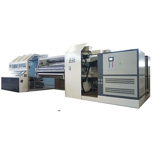 Induction heating metallizer