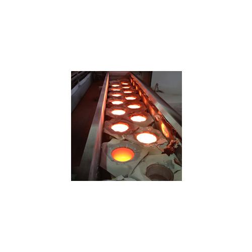 Metallic induction style metallizer