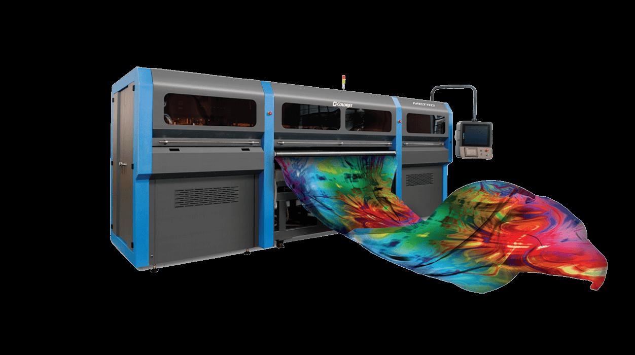 Textile printer (metro
