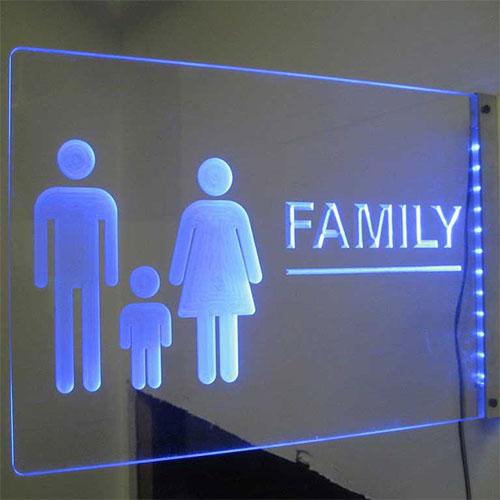 Sign light (side-lit)