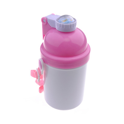Kid Water Bottle 400ML Cylinder Lid Pin_2