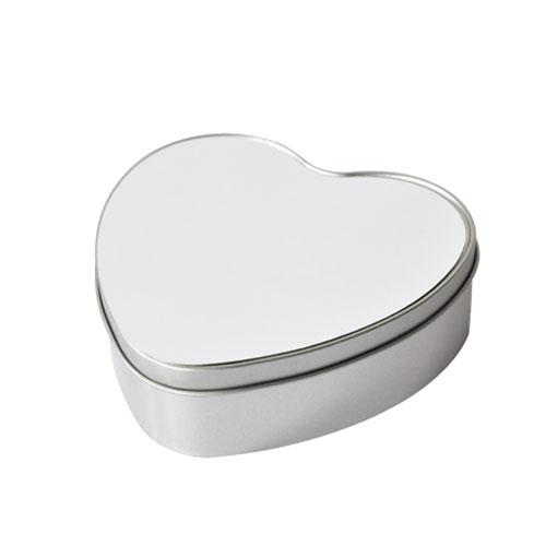 Metal candy tin-heart