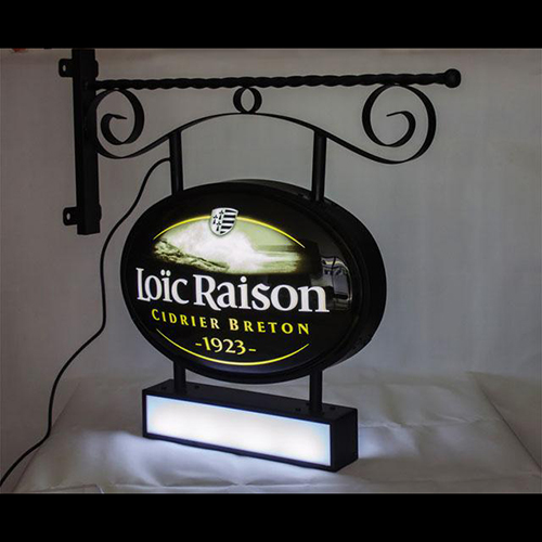 Vocuum forming light box oem sign
