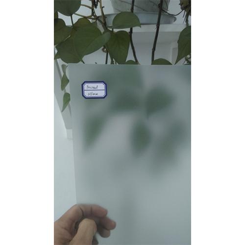 Frost Clear PVC Sheet_2