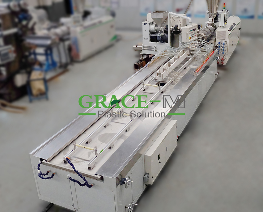 WPC Profile Extrusion Line_2