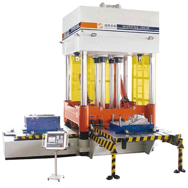 High-Precision Die Spotting Machine JM Series_2