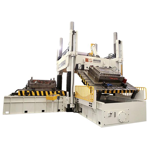 High-precision two plate clamping machine
