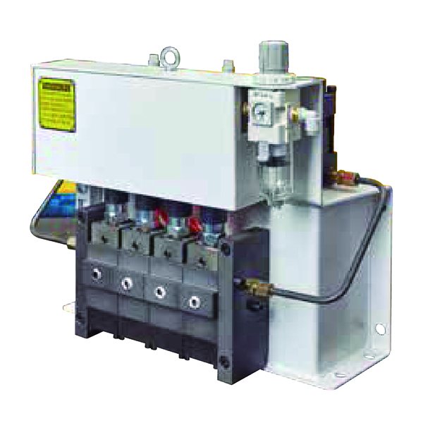Air-driven hydraulic pump unit