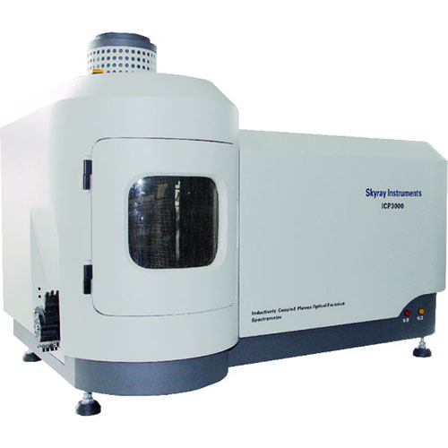 Inductively coupled plasma spectrometer ( icp ) 3000
