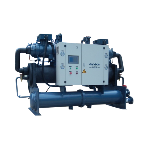 Water cooled screw chiller_2