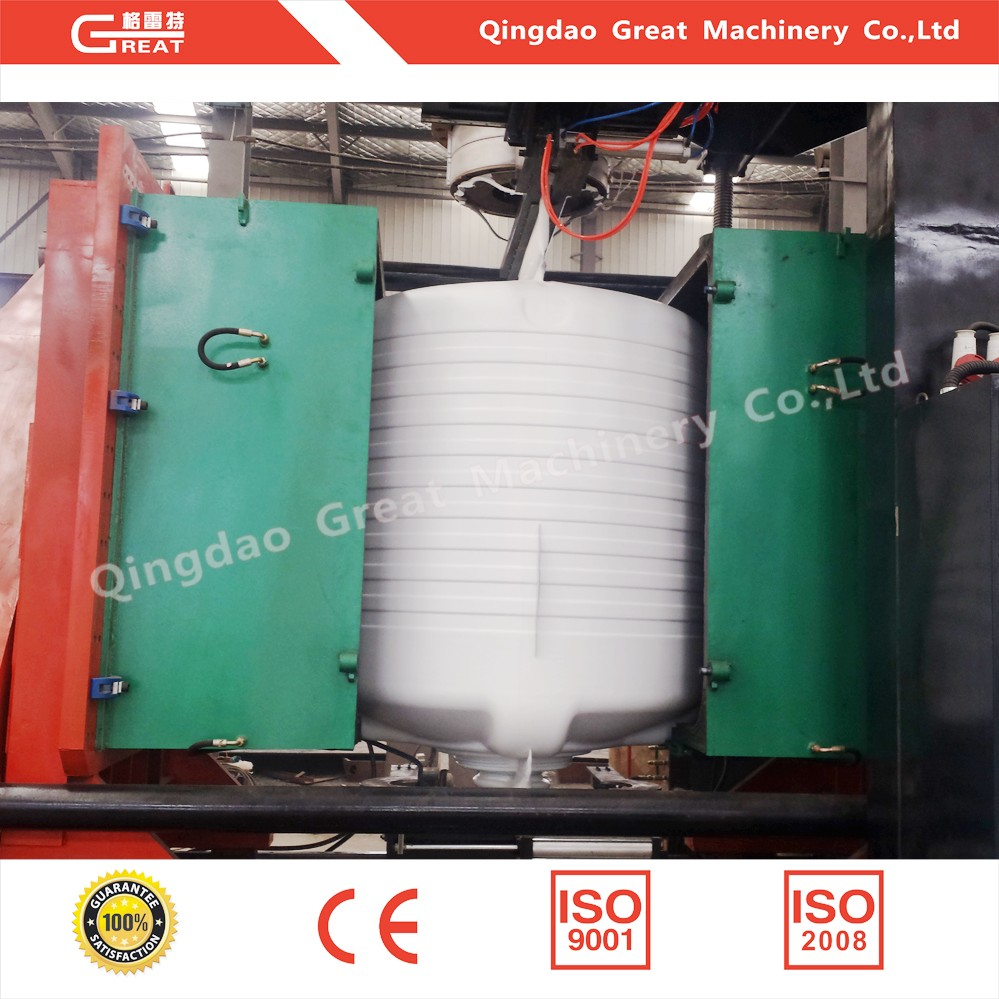 10000l hdpe water tank blow molding machine for three layers