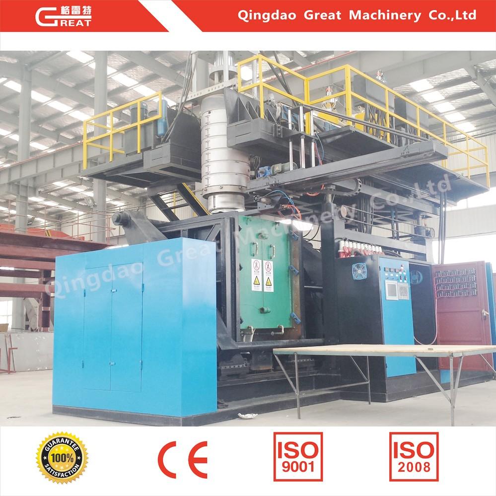 10000l large capacity water tank blow molding machine
