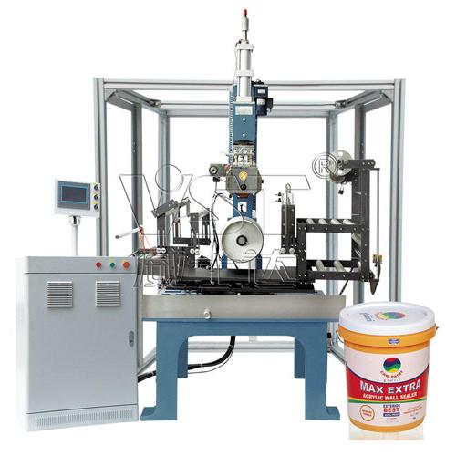 Large round product heat transfer machine vst6058t