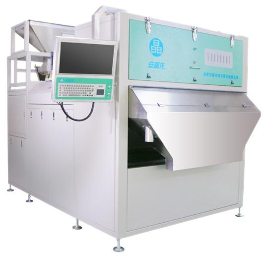 Hybrid plastic particle color sorter