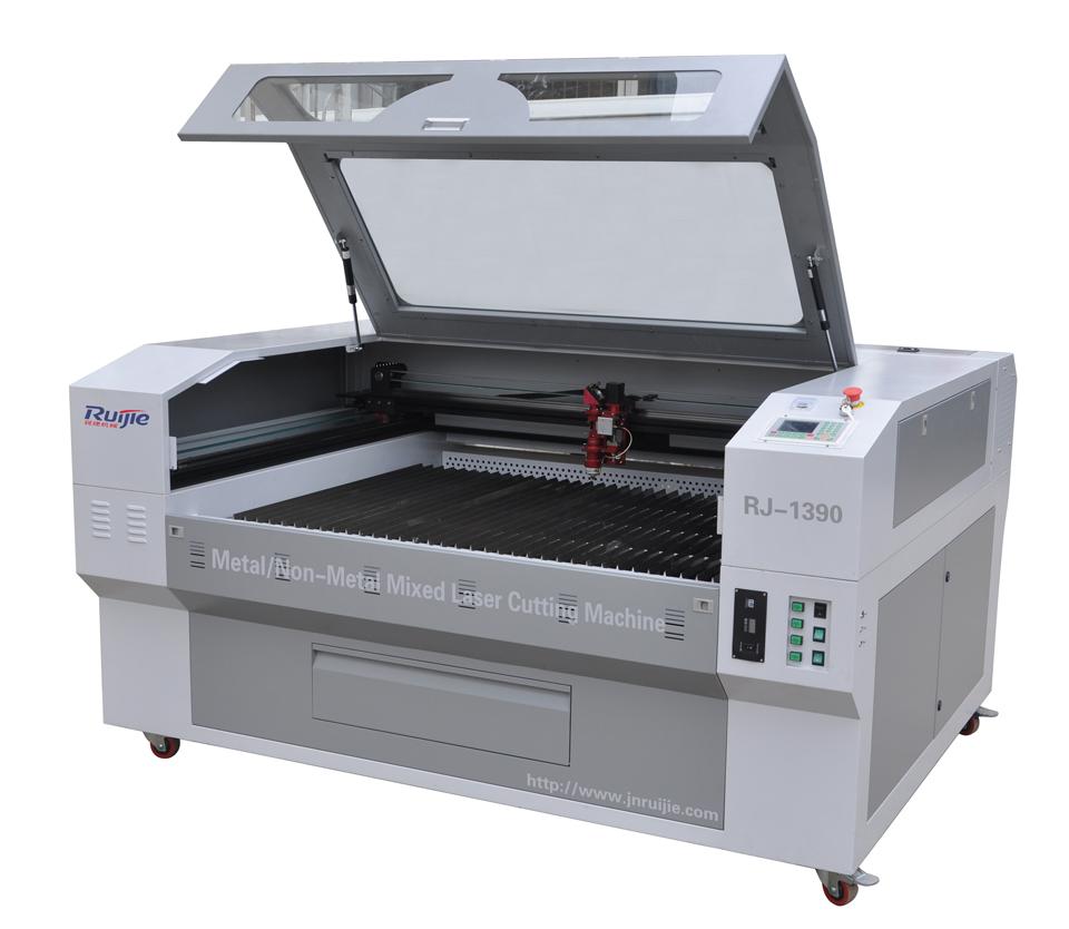 Metal non-metal mixed laser cutting machine rj1390