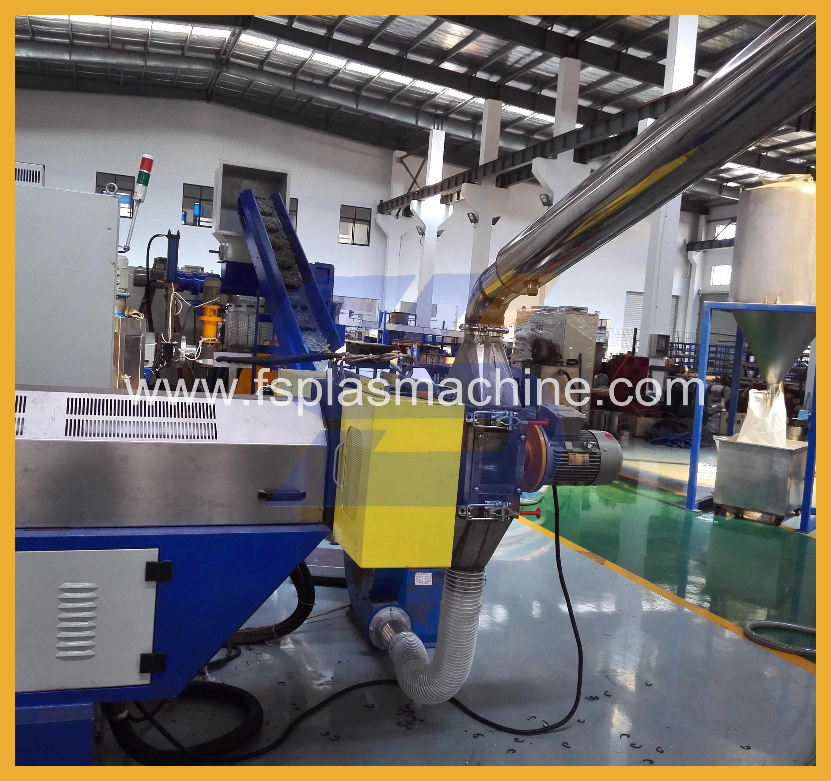 PVC Material Noodle Cutting Pelletizing Line_2
