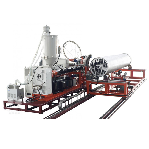 Large Diameter Winding Enhanced Polyolefin Pipe Production Line_2