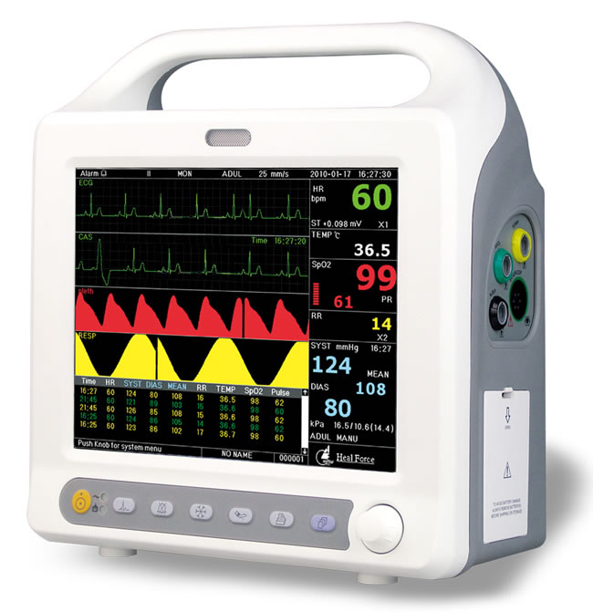 DELUXE 100 Multi Parameter Patient Monitor_2