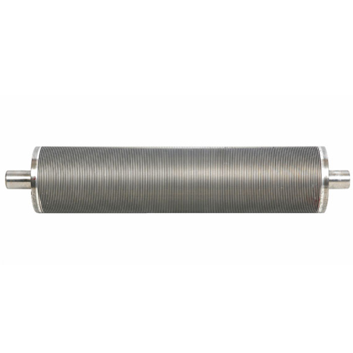 Alluminum roller  rubber grooving roller